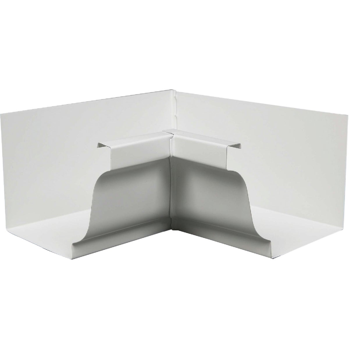 "4"" WHITE INSIDE MITRE - 19201 by Amerimax Home Prod"