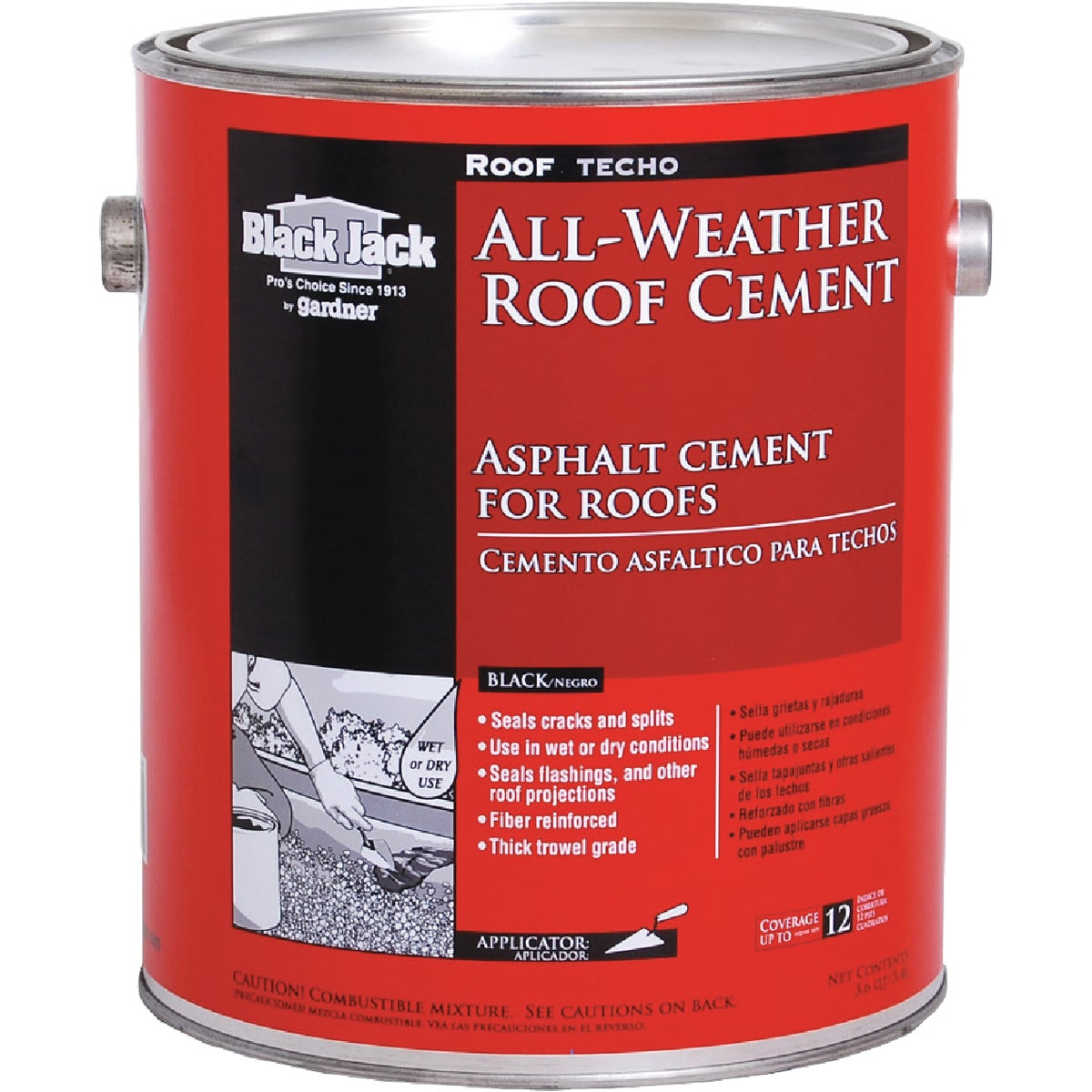 GL ALL WTHR ROOF CEMENT - 6230-9-34 by Gardner Gibson Inc
