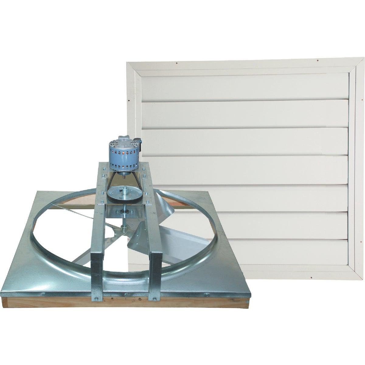 Ventamatic Belt Drive Whole House Fan With Automatic Shutter, CX24BD2SPD