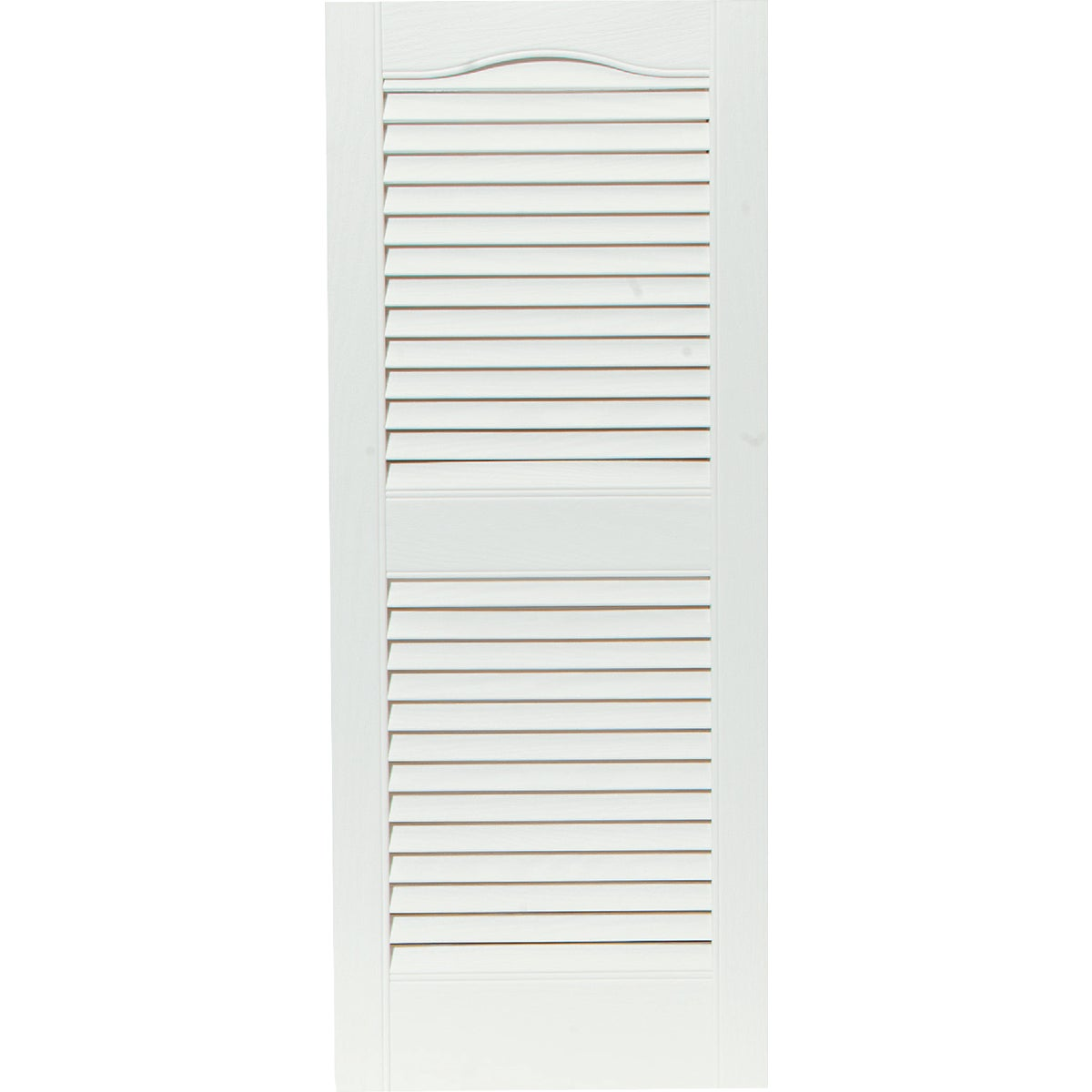 15X36 WHT LOUVER SHUTTER - 020140036001 by The Tapco Group