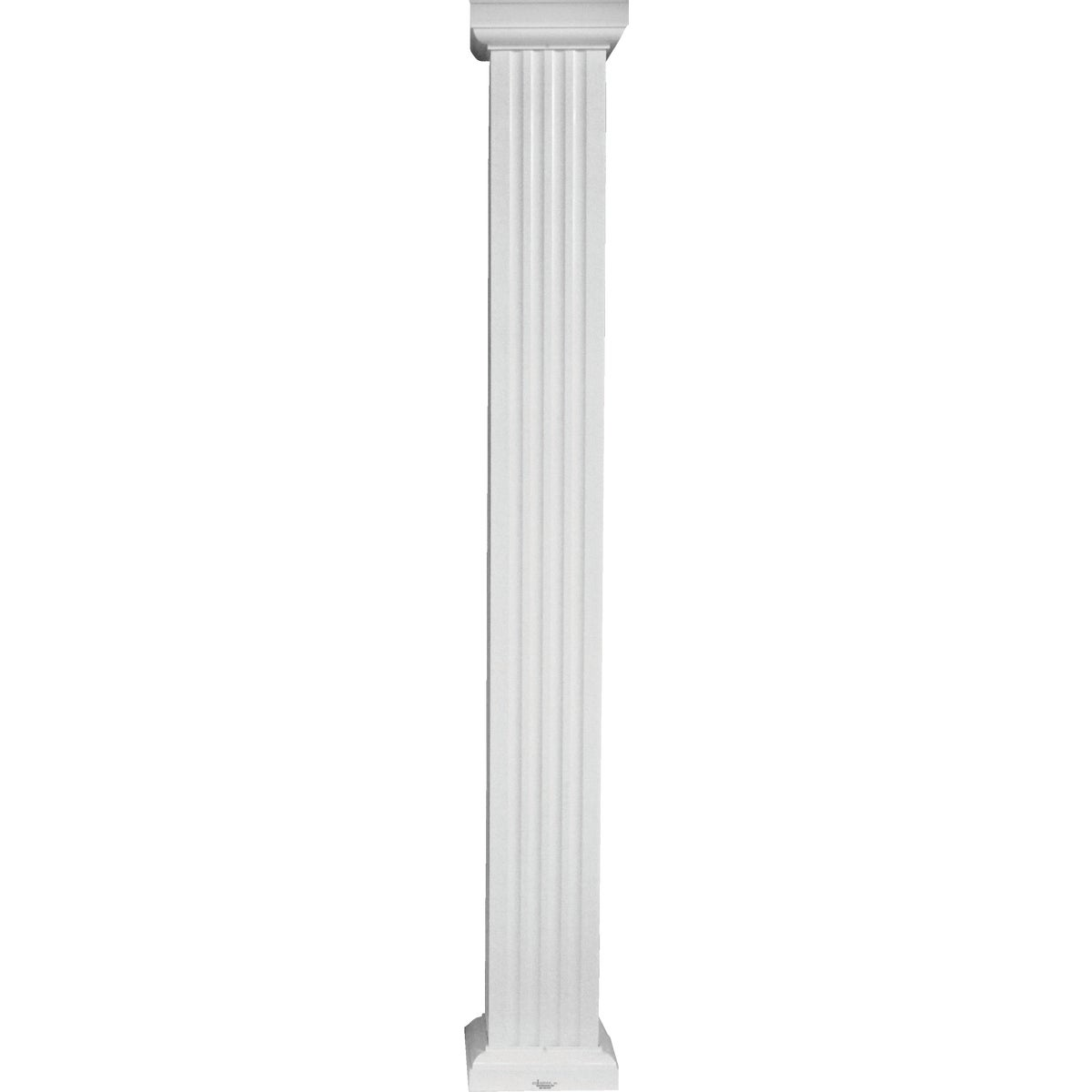 Square Fluted Aluminum Column