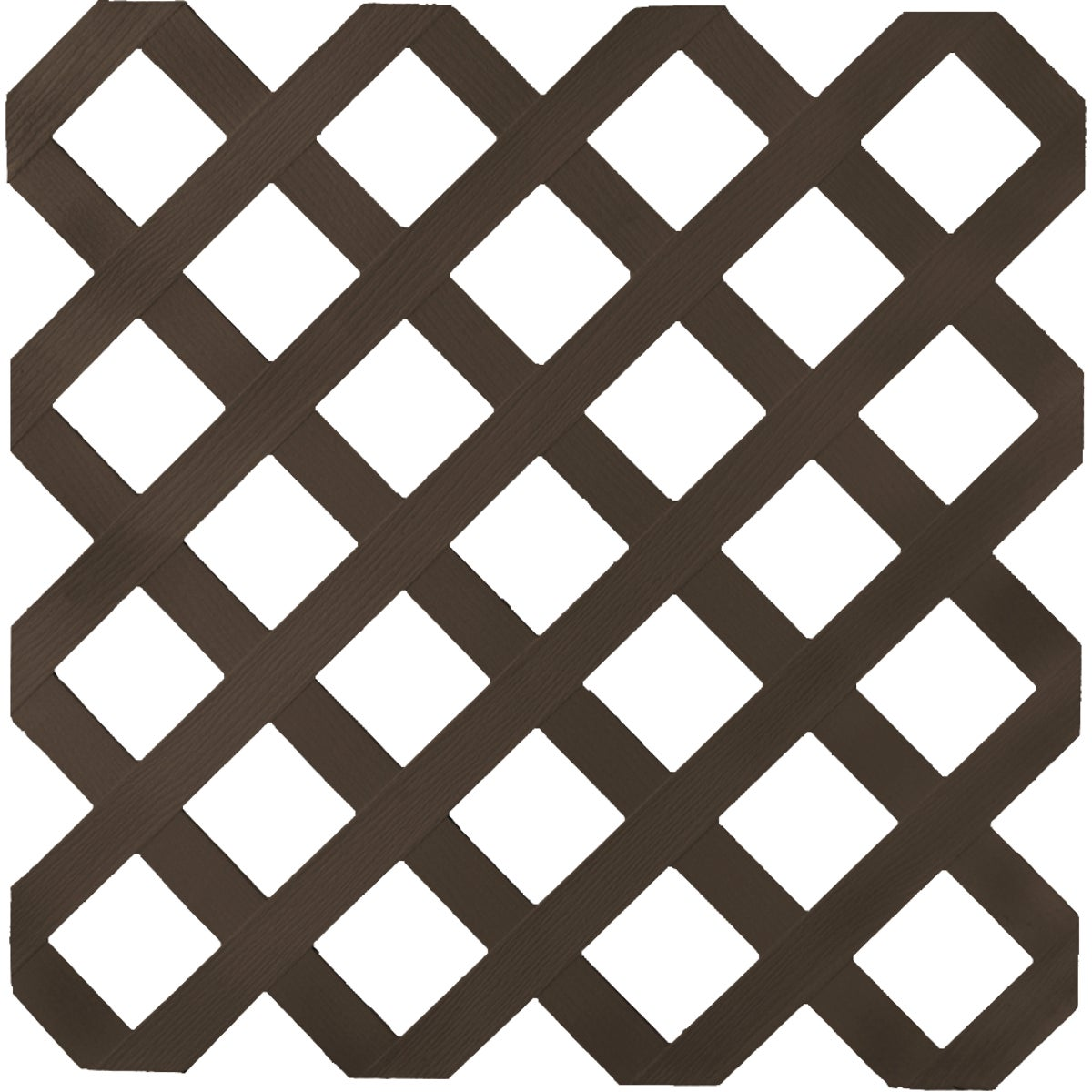 4X8 DK BRN LATTICE - 79911 by UfpiPlstc Lattice