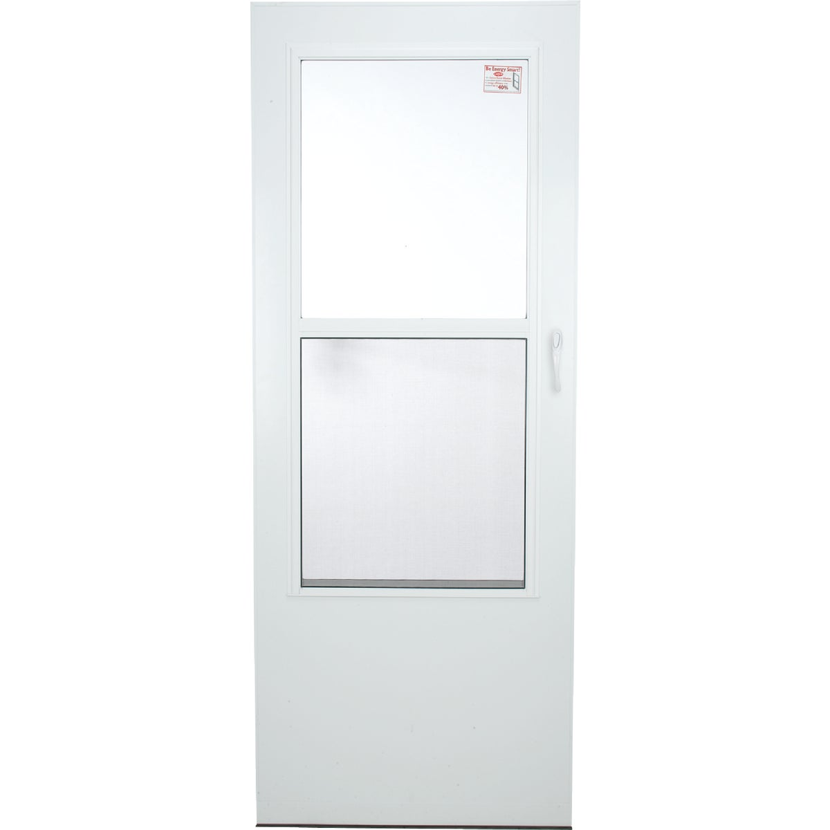 "32"" WHT SELF-STOR DOOR - 288SS by Larson Mfg Co"