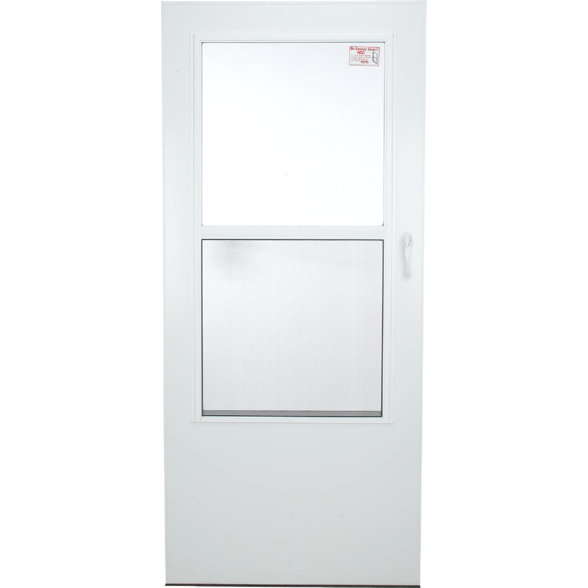 "36"" WHT SELF-STOR DOOR - 288SS by Larson Mfg Co"
