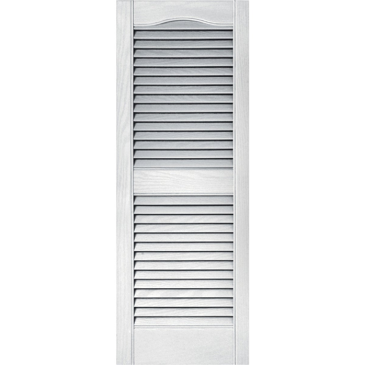 15X39 WHT LOUVER SHUTTER - 020140039001 by The Tapco Group