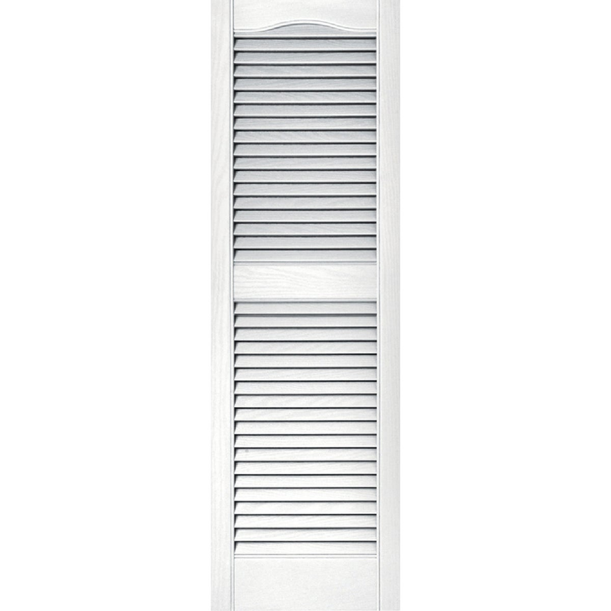 15X48 WHT LOUVER SHUTTER - 020140048001 by The Tapco Group