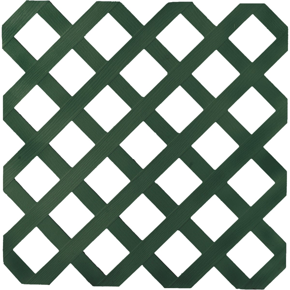 4X8 DK GRN LATTICE - 79910 by Ufpi   Plstc Lattice