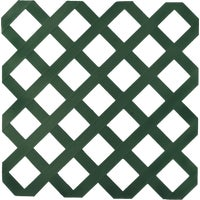 UFPI Plastic Lattice 4X8 DK GRN LATTICE 79910