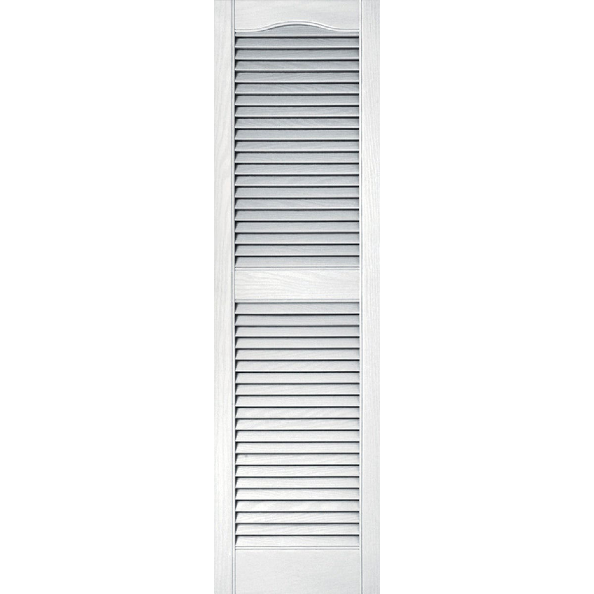 15X52 WHT LOUVER SHUTTER - 020140052001 by The Tapco Group