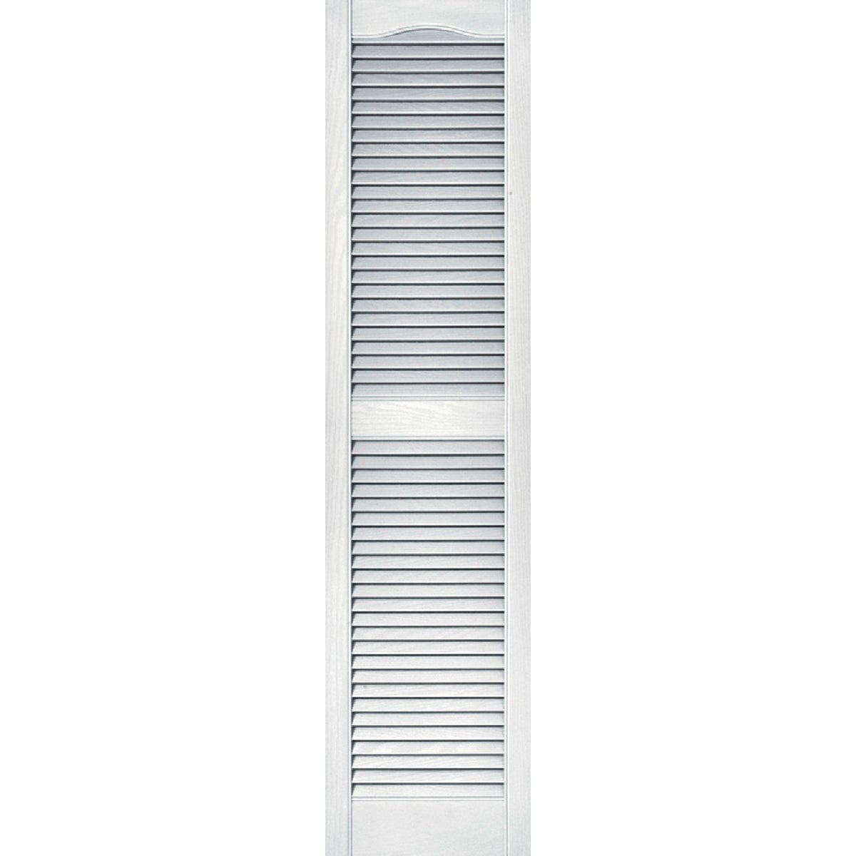 15X60 WHT LOUVER SHUTTER - 020140060001 by The Tapco Group