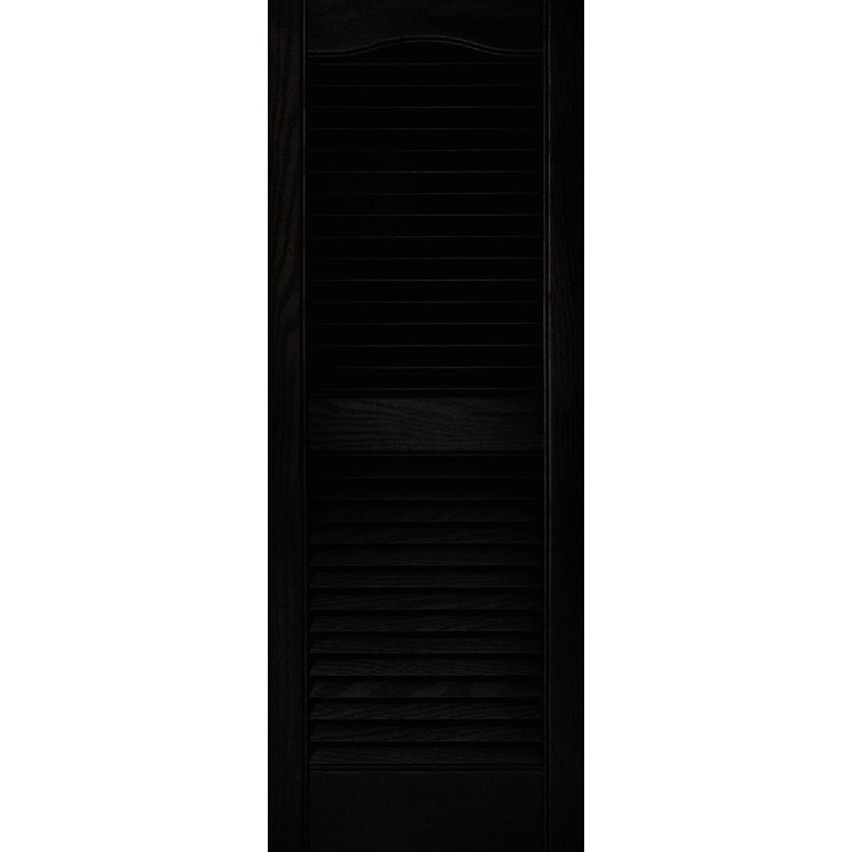 15X39 BLK LOUVER SHUTTER - 020140039002 by The Tapco Group