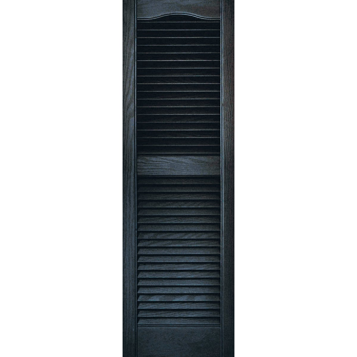 15X48 BLK LOUVER SHUTTER - 020140048002 by The Tapco Group