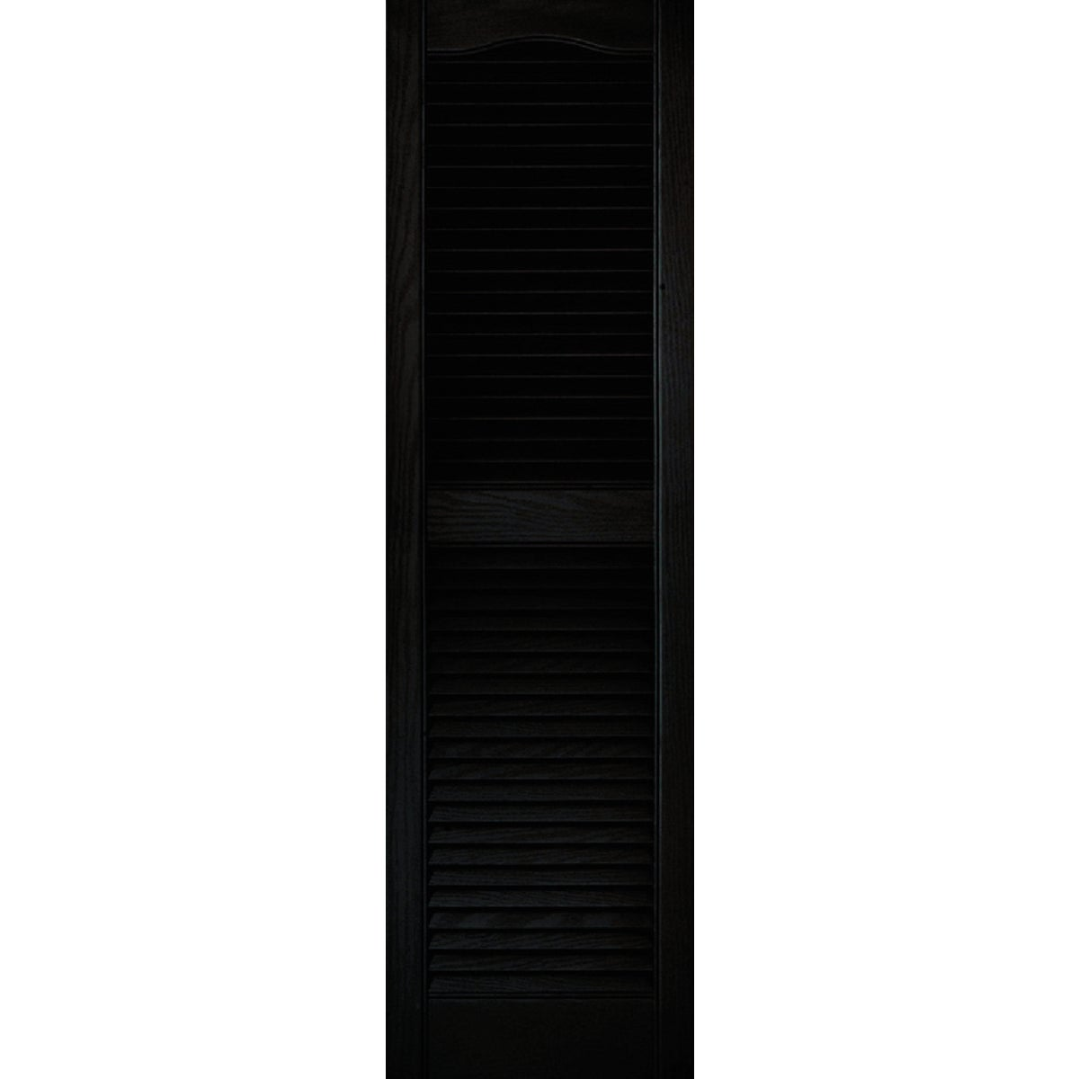15X52 BLK LOUVER SHUTTER - 020140052002 by The Tapco Group