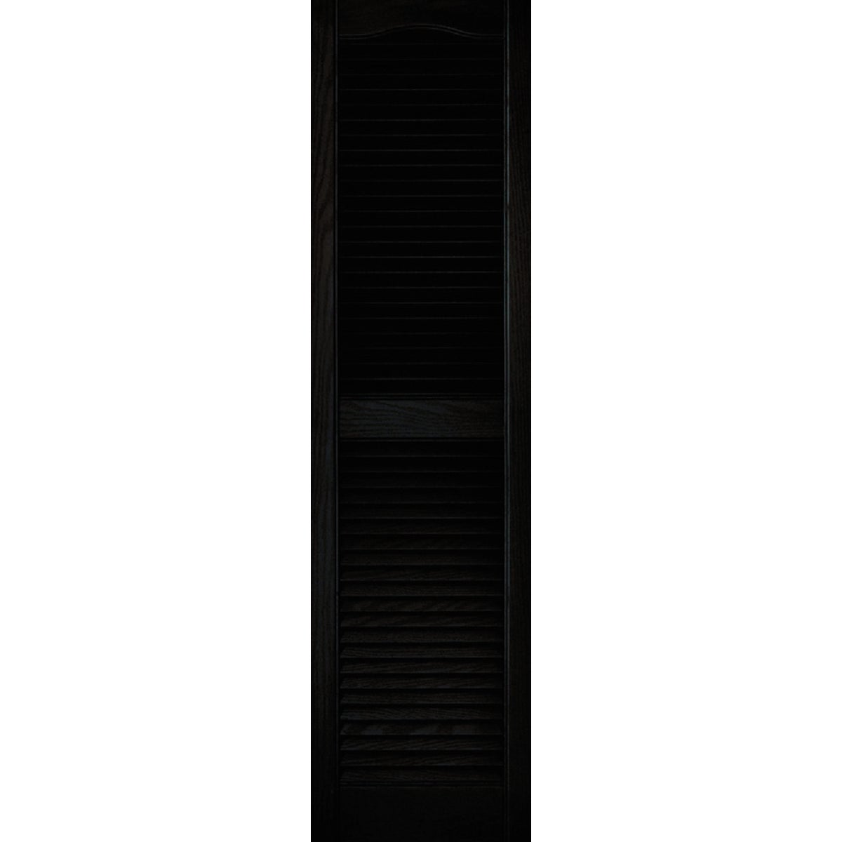 15X55 BLK LOUVER SHUTTER - 020140055002 by The Tapco Group