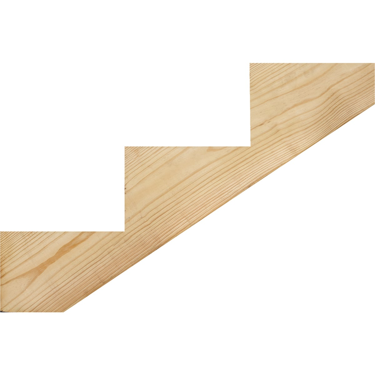 Treated Precut Stair Stringer
