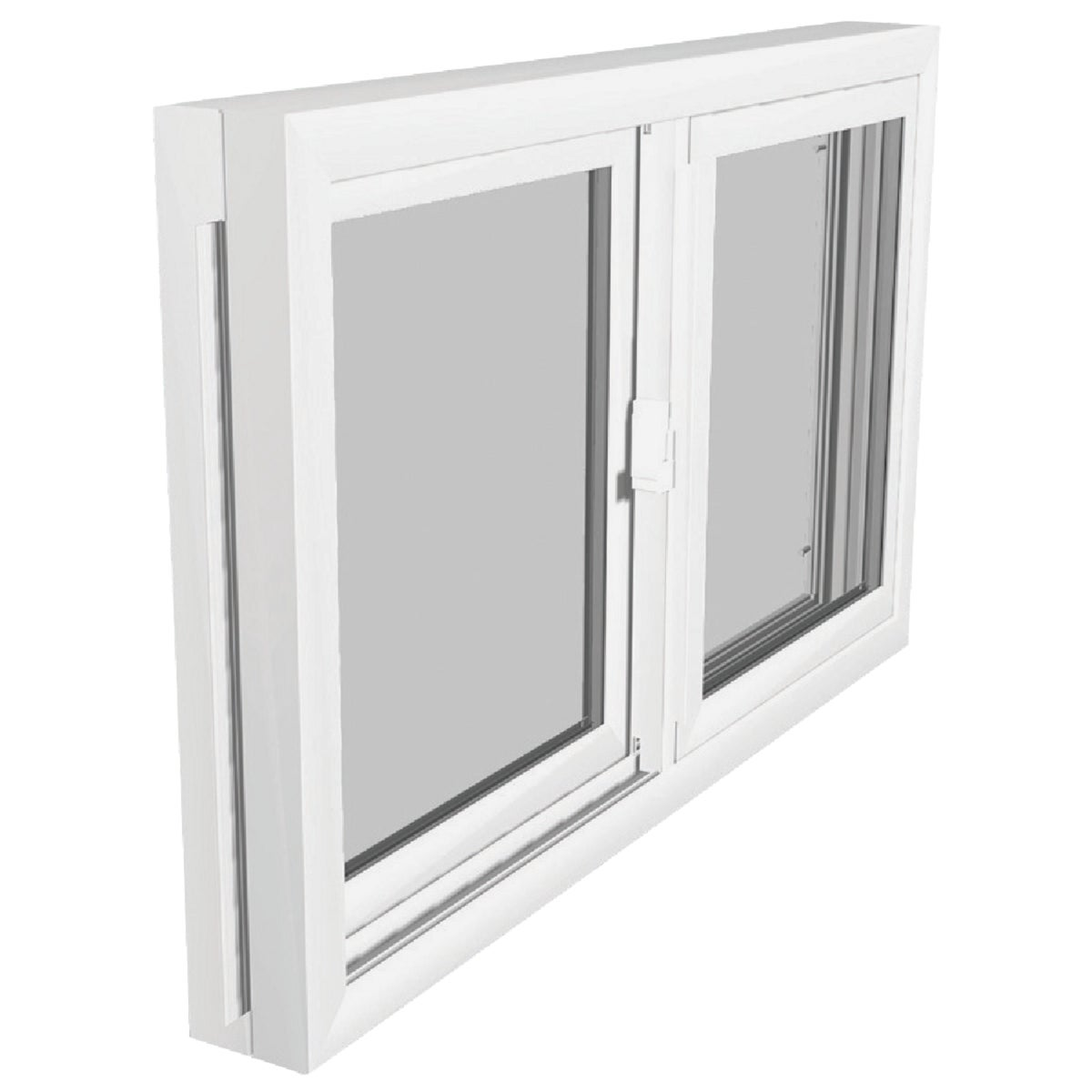 WHT BSMT SLDR WINDOW - 3214 by Duo Corp