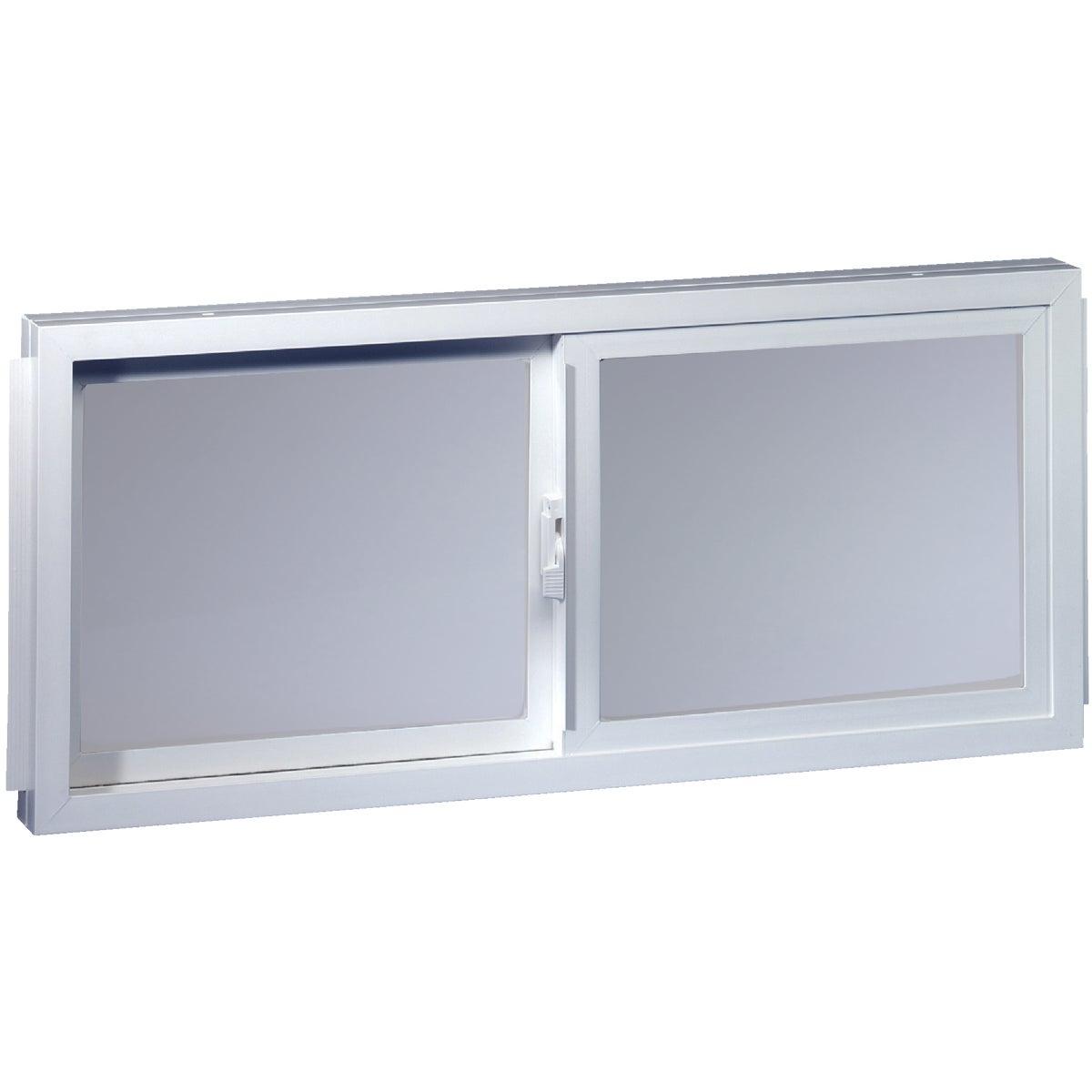 WHT BSMT SLDR WINDOW