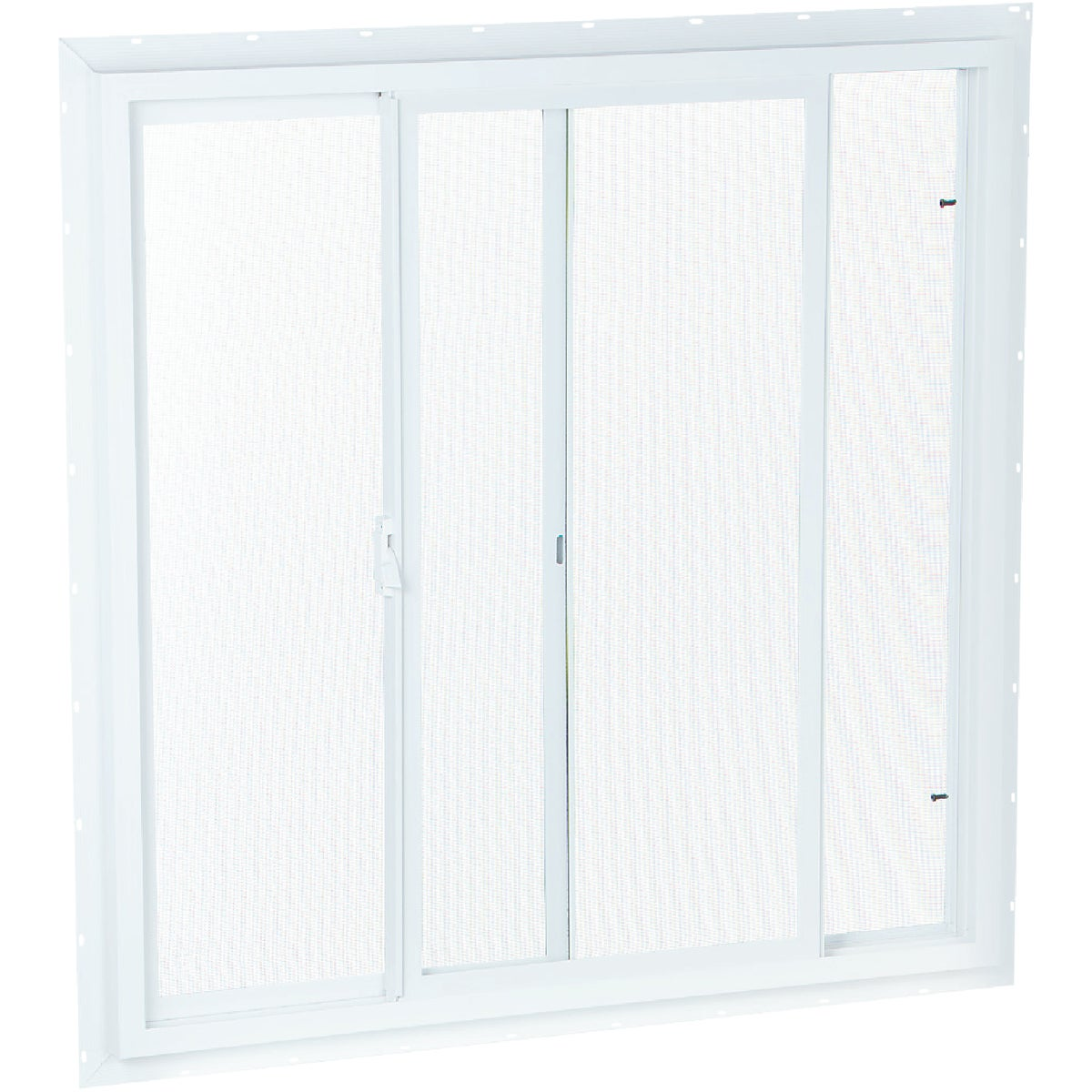 WHT SLDR WINDOW W/SCREEN - 2020 by Duo Corp