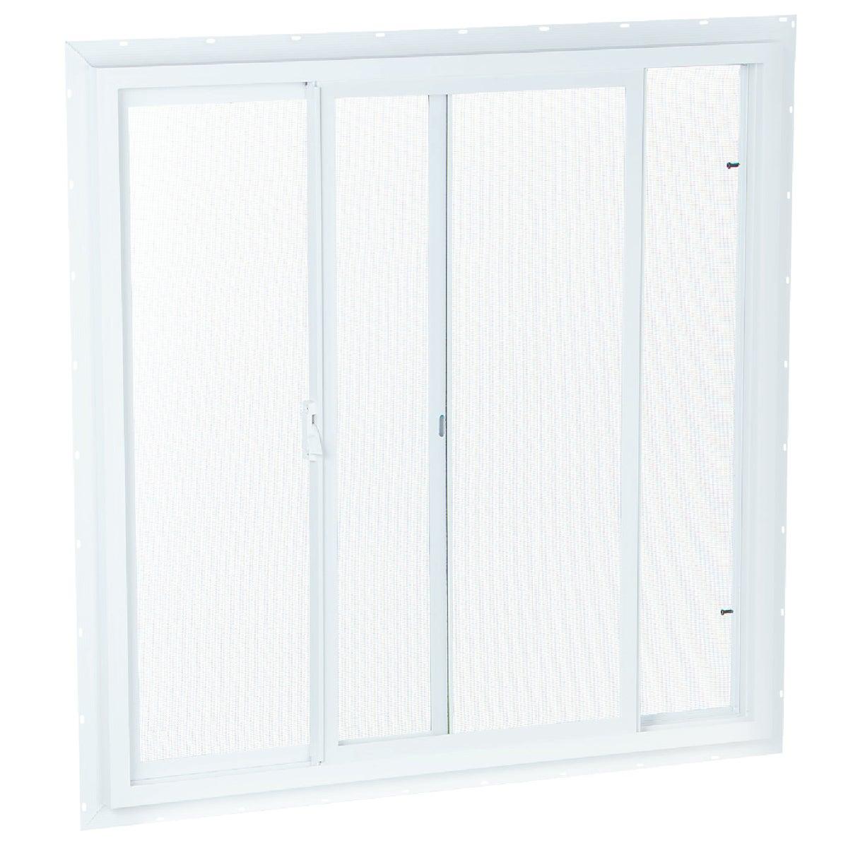 Wht Sldr Window W/Screen