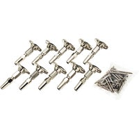 10Pk Raleasy Swivel Ends