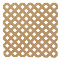 UFPI Plastic Lattice 4X8 CDR PRIVACY LATTICE 79940