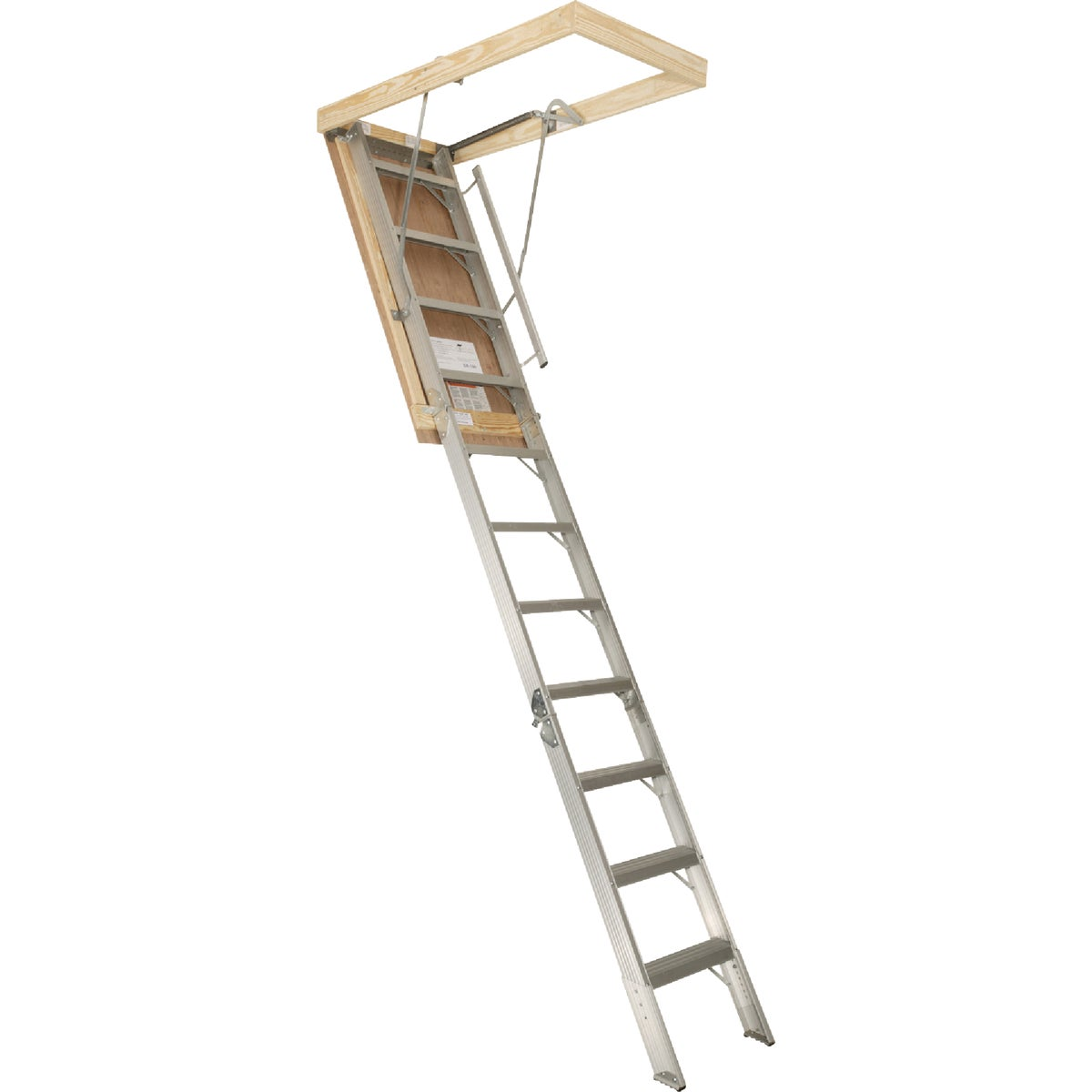 22X120 ALUM ATTIC STAIR - AA2210 by Louisville Ladder