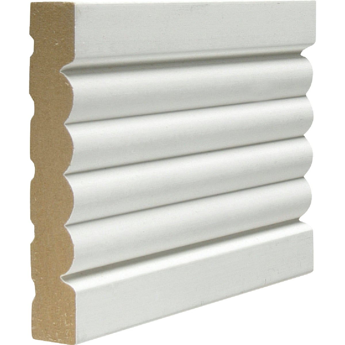 3-3/8X8MDF FLUTED CASING - 33880MDFP by Jim White Millwork