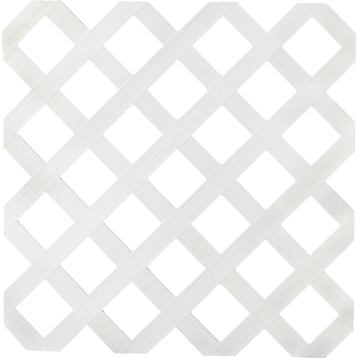 4X8 WHITE LATTICE - 79897 by Ufpi   Plstc Lattice