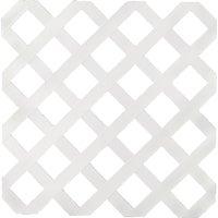 UFPI Plastic Lattice 4X8 WHITE LATTICE 79897