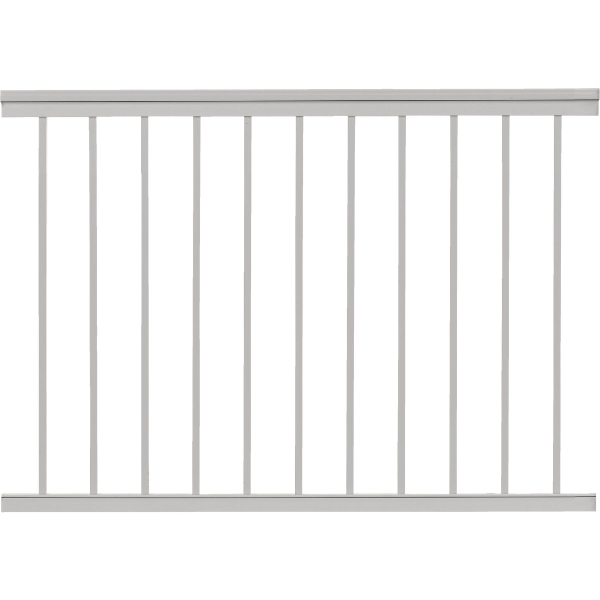 "36""X4' WHT SPINDLE RAIL - 619031W by Gilpin Inc"