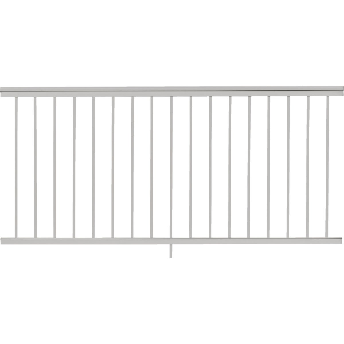 "36""X6' WHT SPINDLE RAIL"
