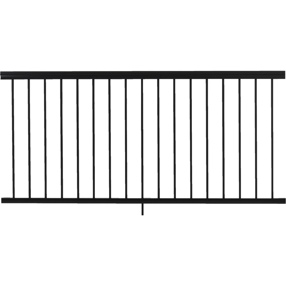 "36""X6' BLK SPINDLE RAIL - 619051B by Gilpin Inc"