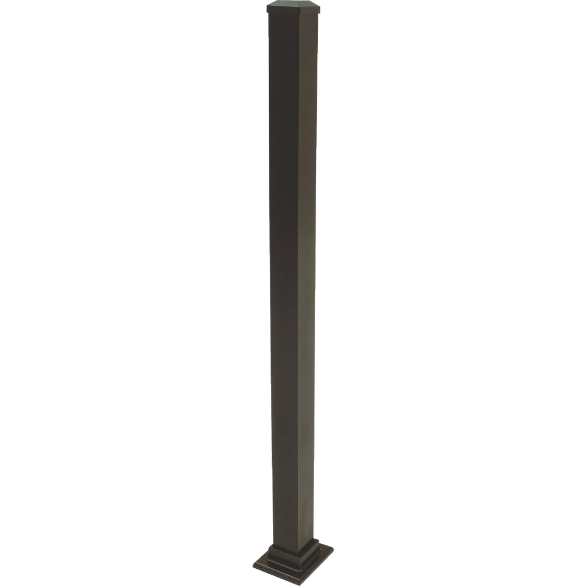 "37"" BLACK FLANGE POST"