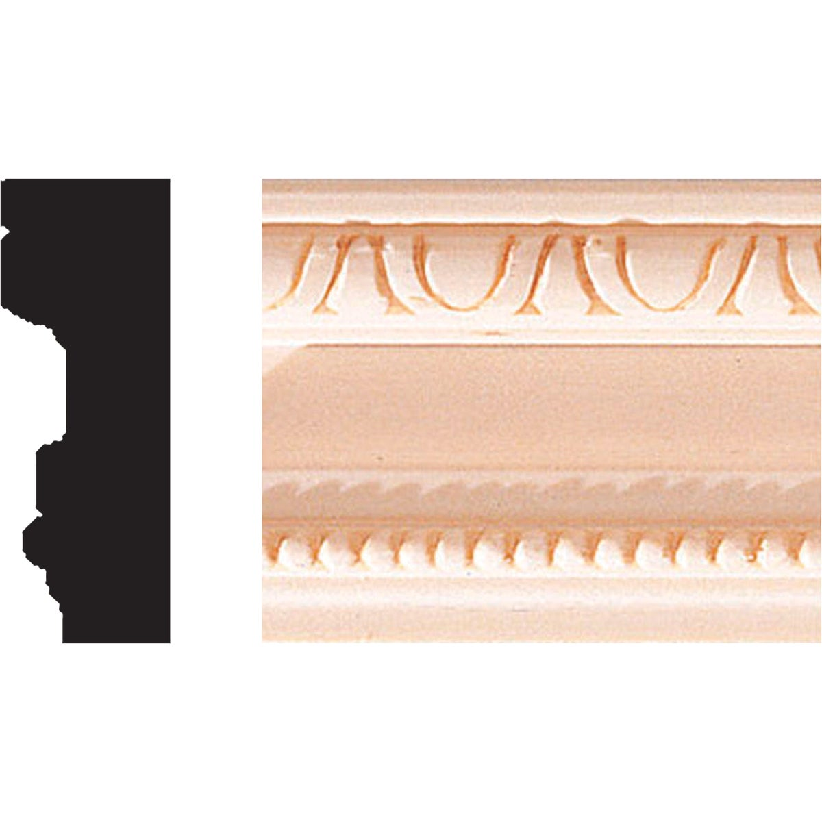 "3/4X2""X8' MOULDING - 513 by House Of Fara Inc"