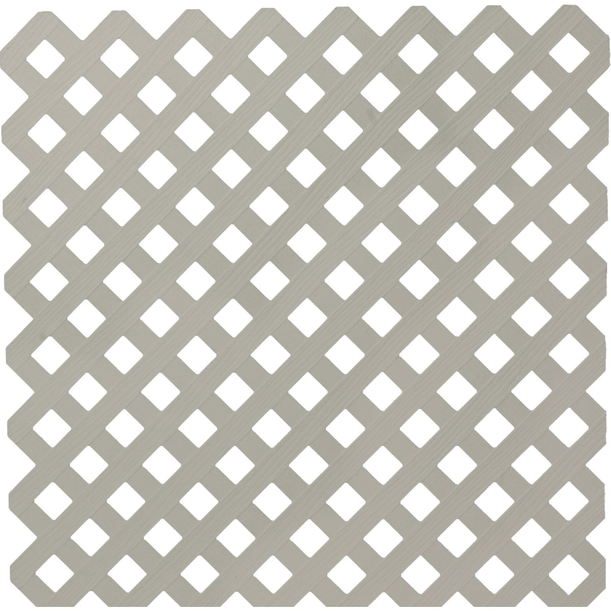 4X8 GRAY PRIVACY LATTICE - 79942 by Ufpi   Plstc Lattice