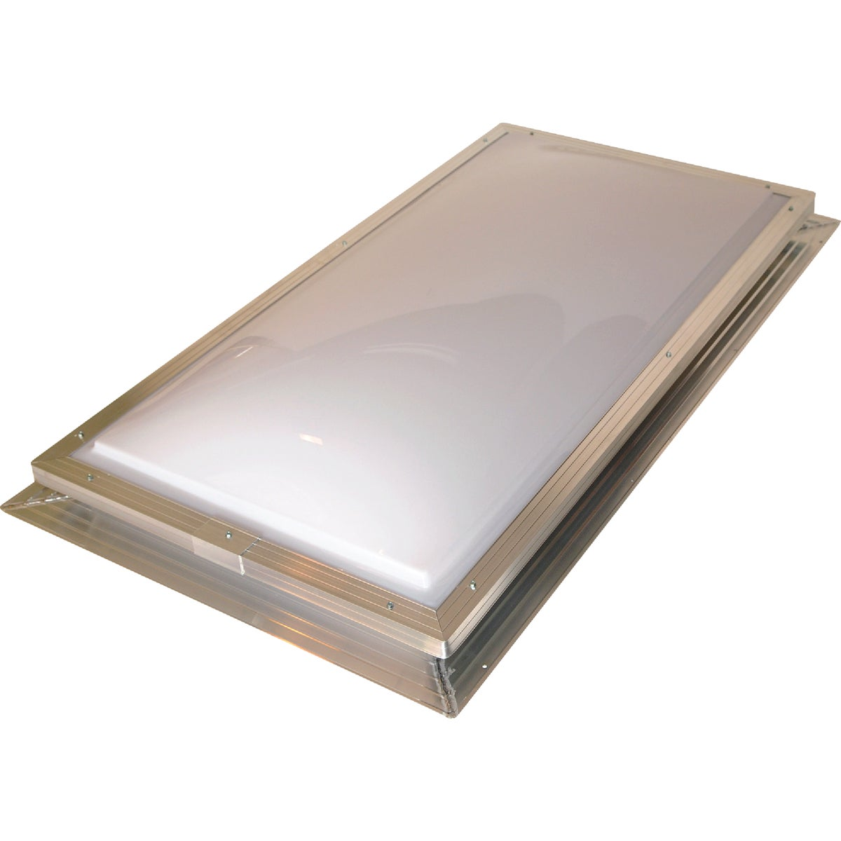 2X4 WH/CL 2DOME SKYLIGHT - SFA2246WCN by Sun Tek Manuf Inc