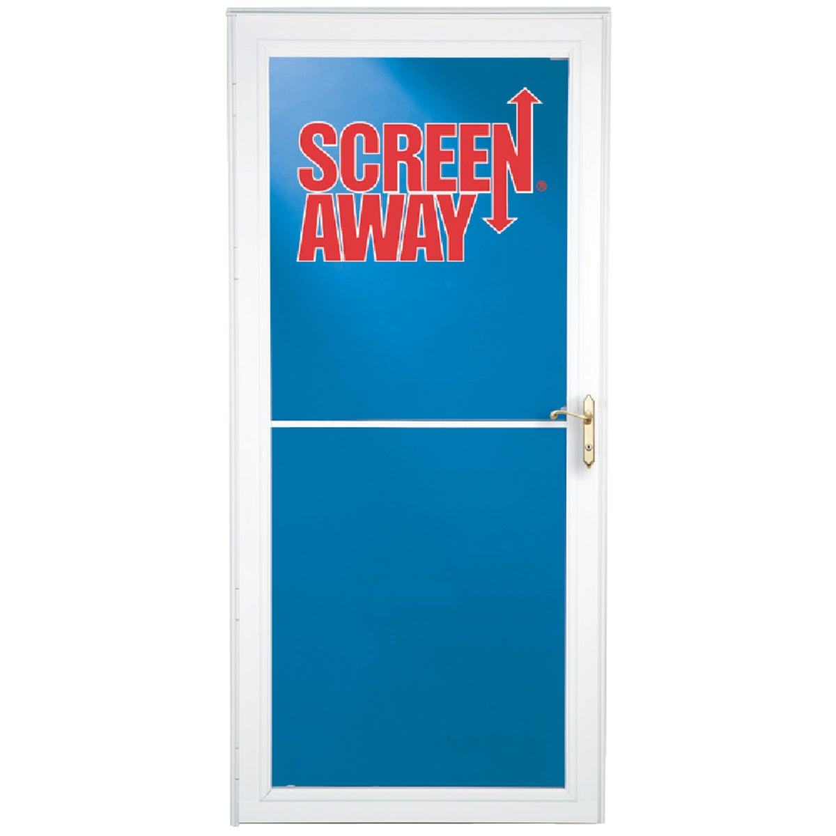 "36"" WHT FULL VIEW DOOR - 35660032 by Larson Mfg Co"