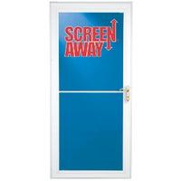 Larson Screenaway Lifestyle Full View Aluminum Storm Door, 35660032