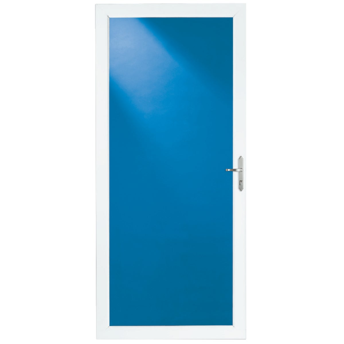 "36"" WHT FULL VIEW DOOR - 35004032 by Larson Mfg Co"