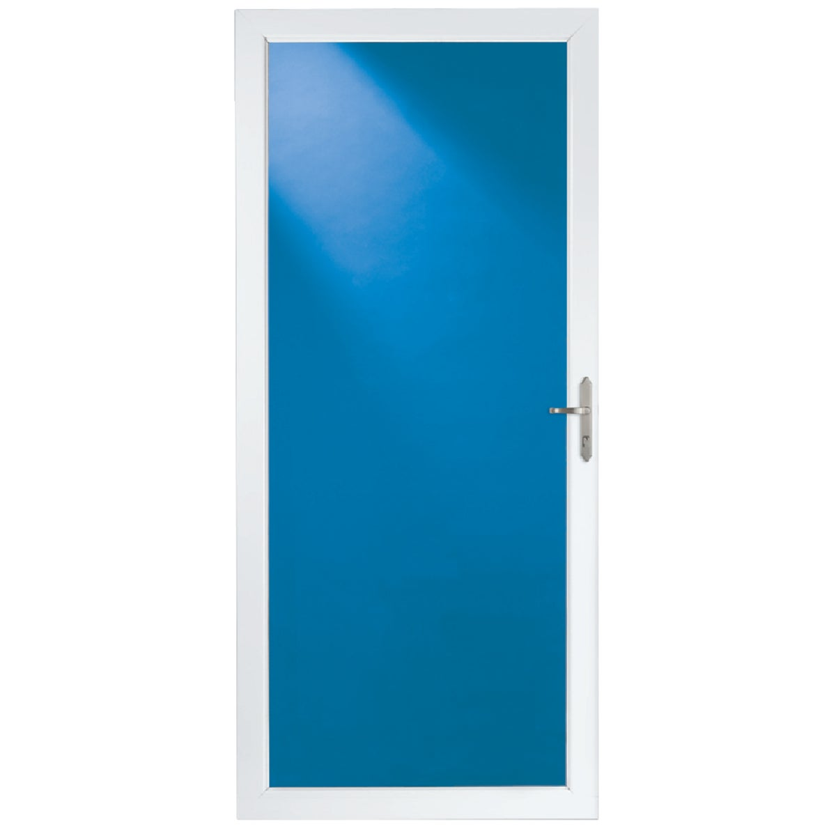 "36"" WHT FULL VIEW DOOR - 35017032 by Larson Mfg Co"