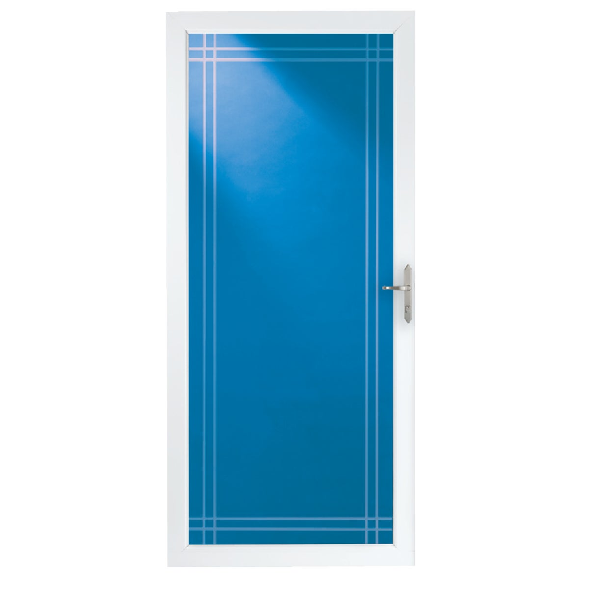 "36"" WHT FULL VIEW DOOR - 35014032 by Larson Mfg Co"