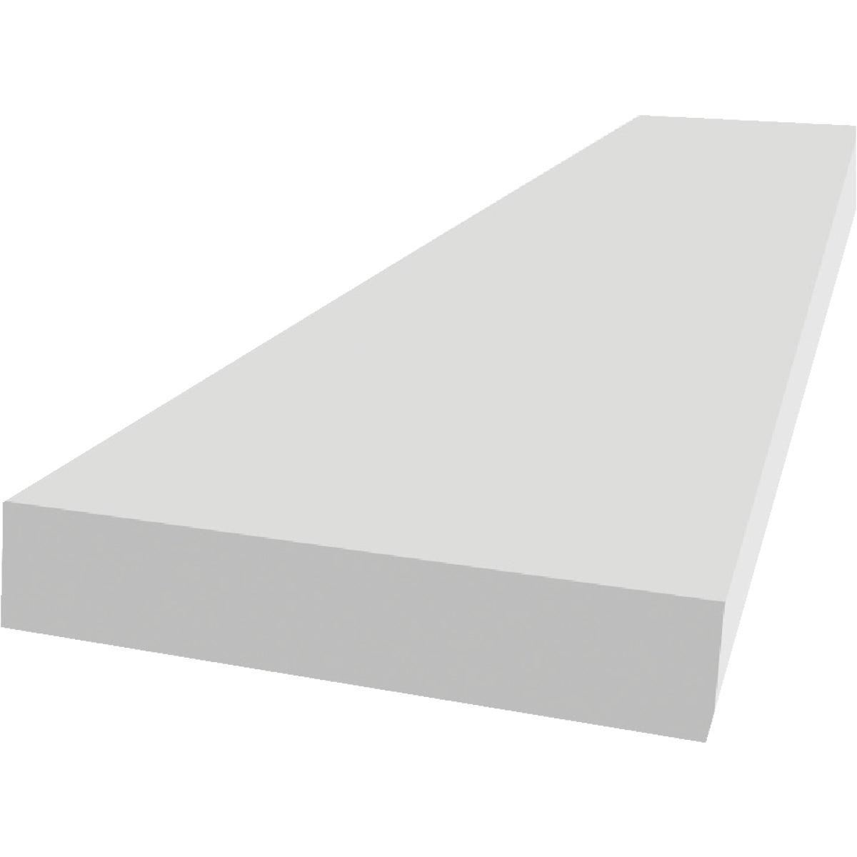 1X6-12' WHT TRIM BOARD - 07721200986 by Gossen Corp