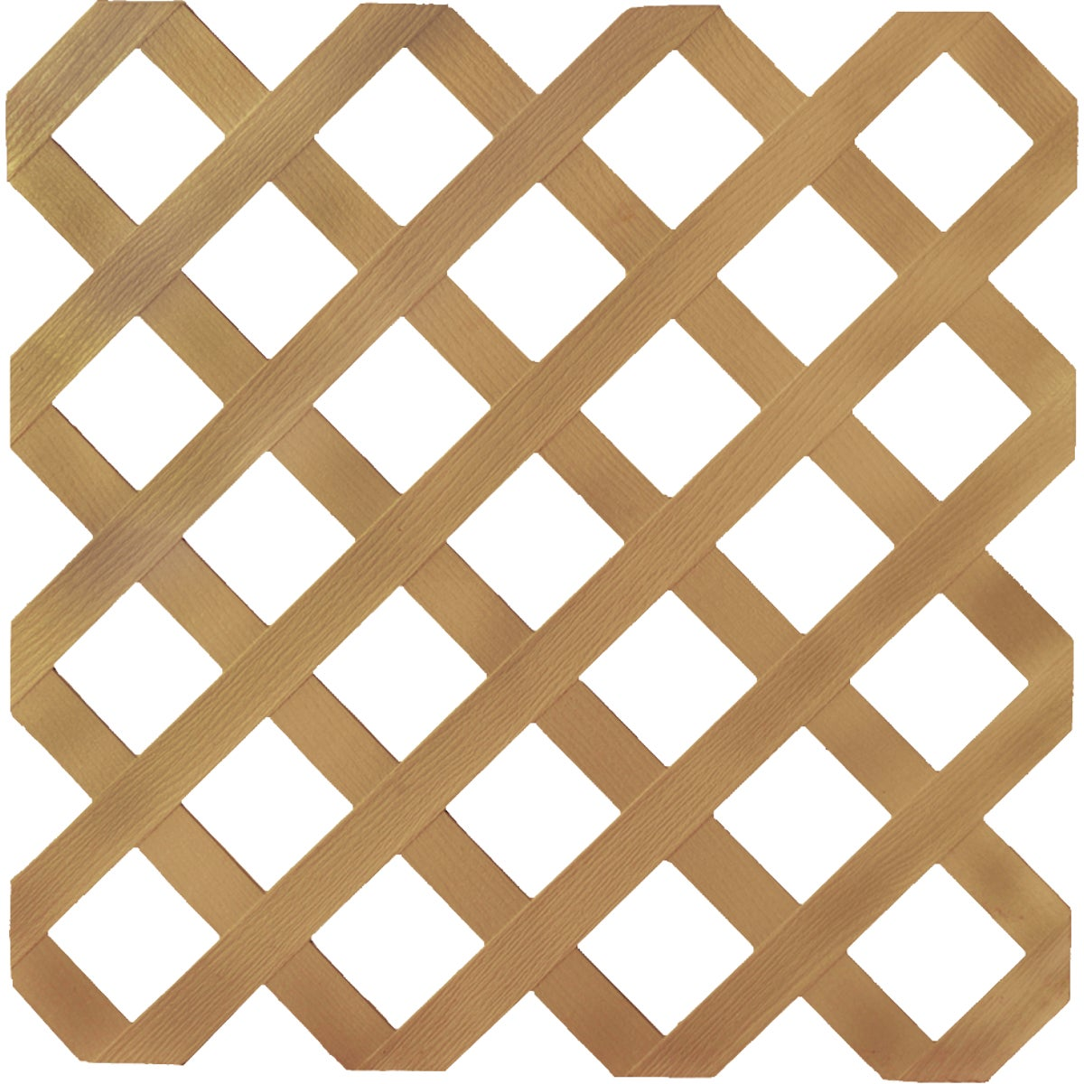 4X8 CEDAR LATTICE - 79899 by Ufpi   Plstc Lattice
