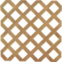 UFPI Plastic Lattice 4X8 CEDAR LATTICE 79899