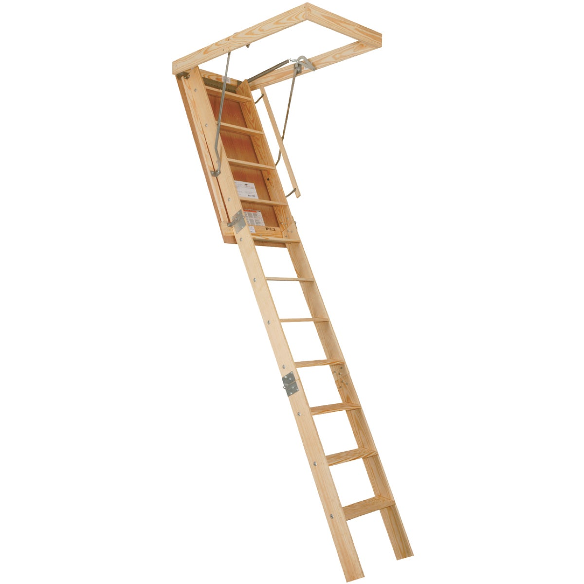 25X120 FIRE ATTIC STAIR - AE100F by Louisville Ladder