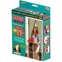 Magic Mesh Hands-Free Retractable Screen Door, MM011124