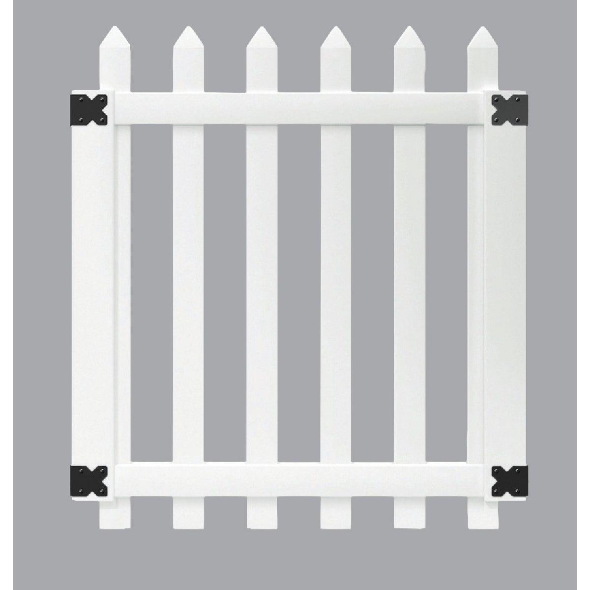 48X41.5 VNYL PICKET GATE - 116065 by Ufpi Lbr & Treated