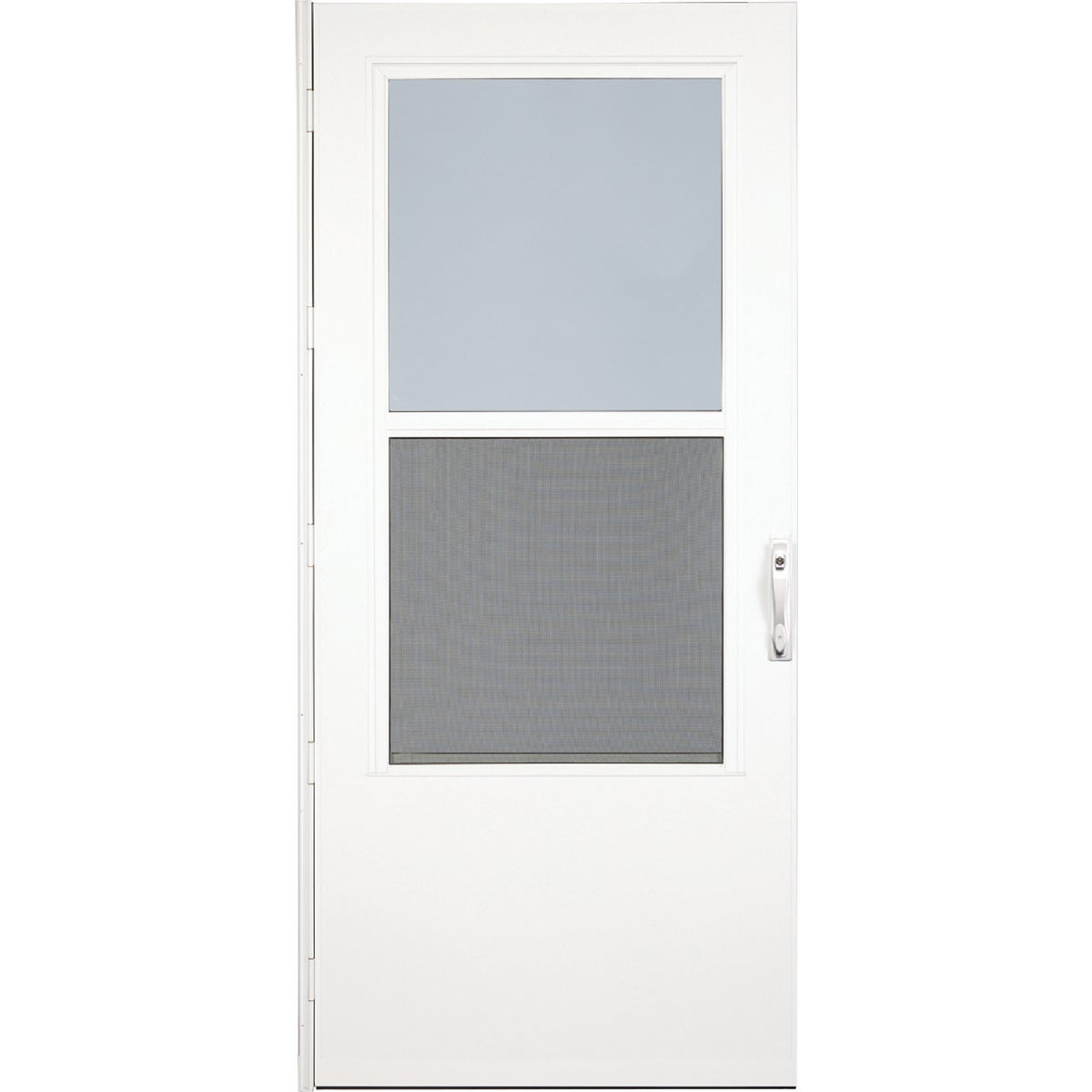 "32"" WHT SELF-STORM DOOR - 37050031 by Larson Mfg Co"