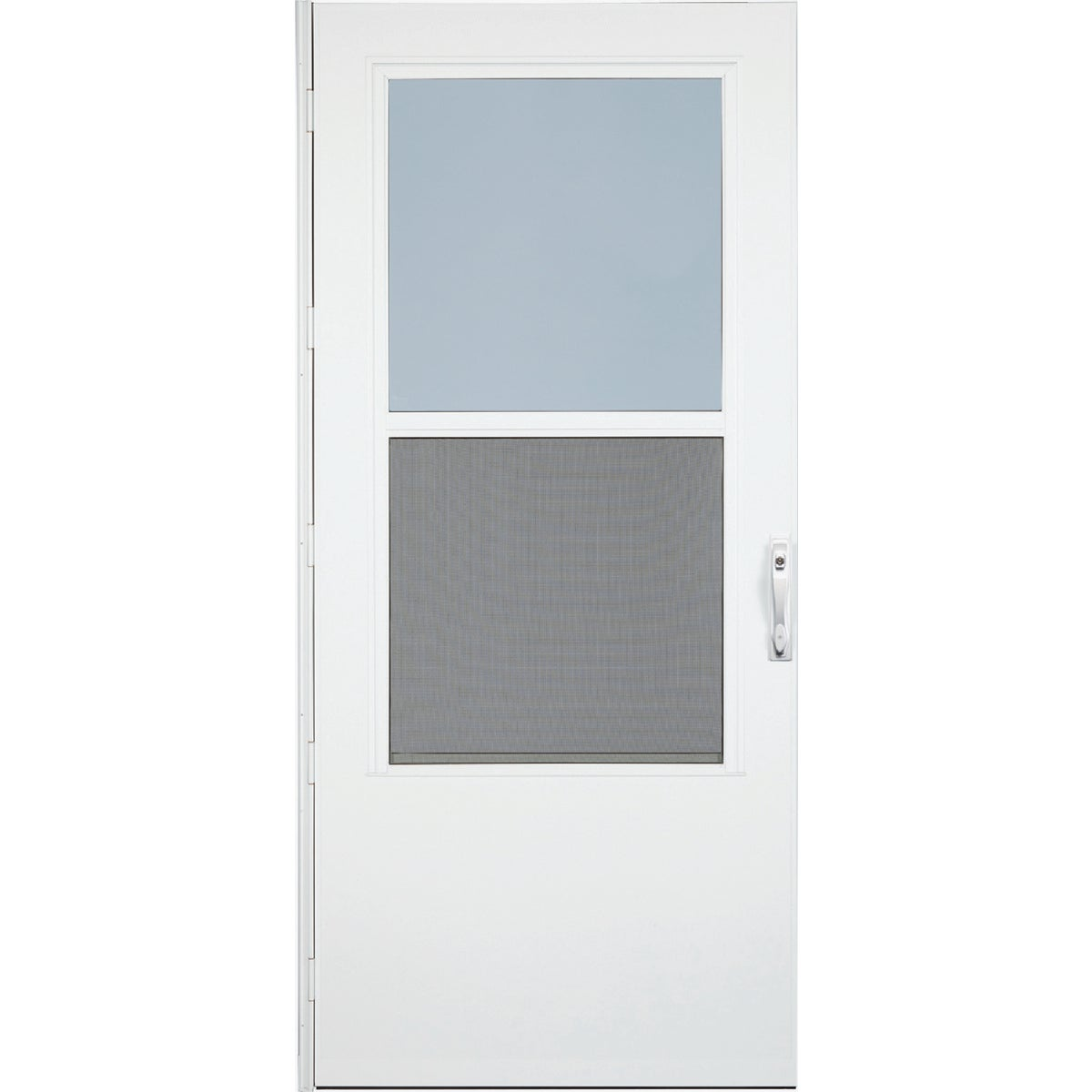 "36"" WHT SELF-STORM DOOR - 37050032 by Larson Mfg Co"