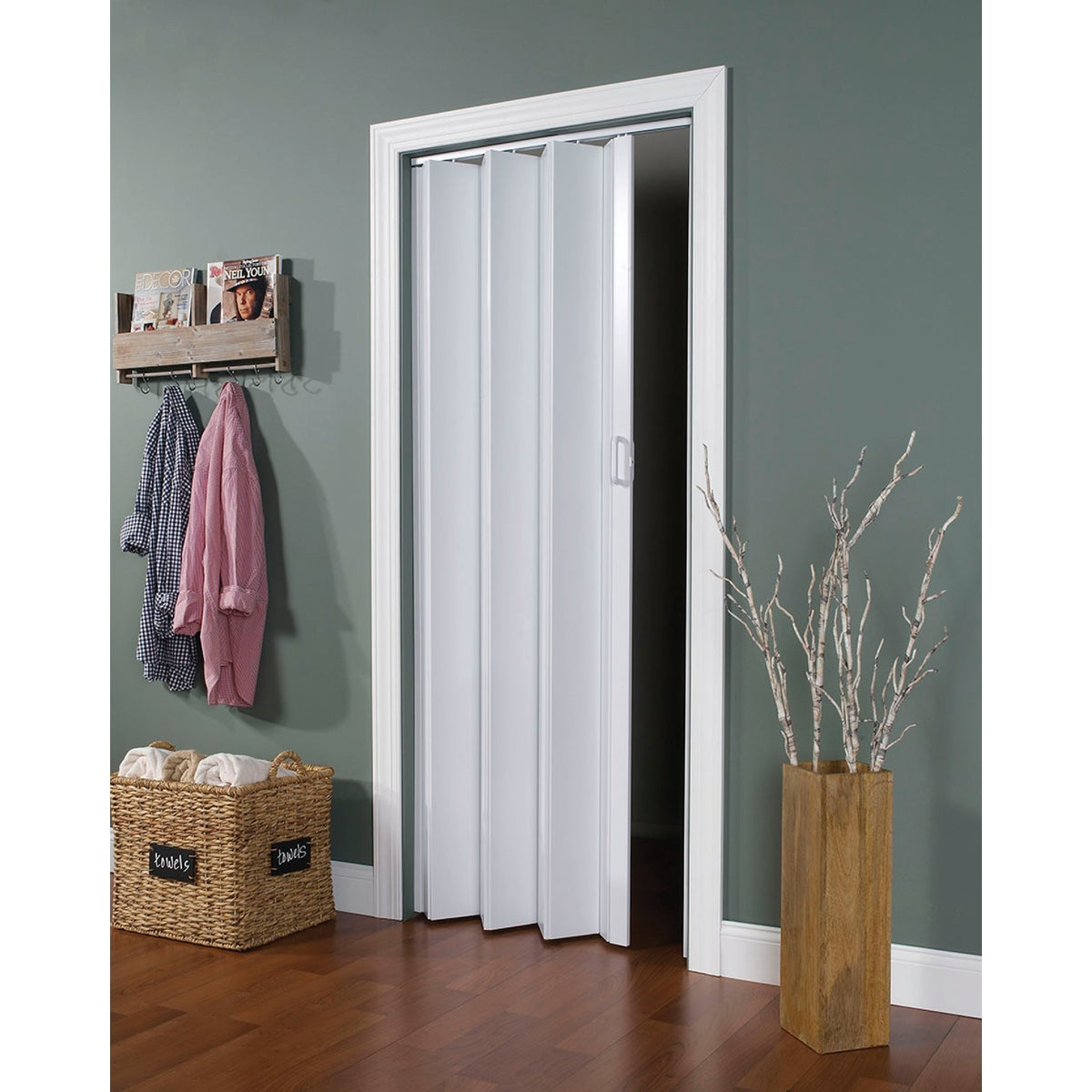24-36X80 WHITE FOLD DOOR - EN3280H by L T L Home Products